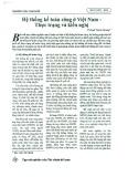 Hệ thống kế toán công ở Việt Nam - Thực trạng và kiến nghị
