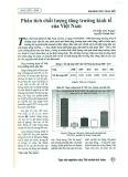 Phân tích chất lượng tăng trưởng kinh tế của Việt Nam
