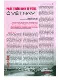 Phát triển kinh tế vùng ở Việt Nam