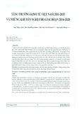 Tăng trưởng kinh tế Việt Nam 2011 - 2015 và những khuyến nghị cho giai đoạn 2016 - 2020