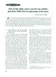 Một số đặc điểm chính của FDI vào ASEAN giai đoạn 2000 - 2010 và giải pháp chính sách