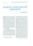 Gia nhập TPP - Cơ hội và thách thức đối với Việt Nam