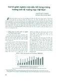 Vai trò giảm nghèo của kiều hối trong khủng hoảng kinh tế: Trường hợp Việt Nam