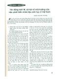 Tác động kinh tế, xã hội và môi trường của việc phát triển nhiên liệu sinh học ở Việt Nam