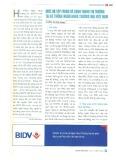 Mức độ tập trung và cạnh tranh thị trường tại hệ thống ngân hàng thương mại Việt Nam