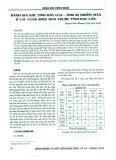 Đánh giá đặc tính đất lúa - tôm bị nhiễm mặn ở các vùng sinh thái thuộc tỉnh Bạc Liêu