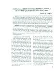 Những luận điểm cho việc tiếp nhận, áp dụng mô hình tự quản địa phương ở Việt Nam