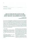 Liên kết trong sản xuất và tiêu thụ tôm: Những vấn đề đặt ra từ nghiên cứu trường hợp xã Tân Duyệt, huyện Đầm Dơi, tỉnh Cà Mau