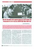 Vai trò của phát triển nguồn nhân lực chất lượng cao trong quản trị rủi ro tại tác NHTM Việt Nam hiện nay