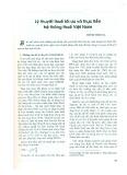 Lý thuyết thuế tối ưu và thực tiễn hệ thống thuế Việt Nam