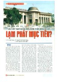 Liệu Việt Nam đã đủ điều kiện thực hiện cơ chế lạm phát mục tiêu?