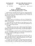 Kế hoạch Tổ chức các hoạt động Kỉ niệm 69 năm ngày Thương binh, Liệt sỹ (27/7/1947-27/7/2016)