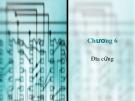 Bài giảng Cấu trúc máy tính - Chương 6: Đĩa cứng