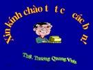 Bài giảng Tổ chức nhân sự hành chính nhà nước: Chương 1 - ThS. Trương Quang Vinh