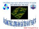 Bài giảng Trắc lượng ảnh giải tích và kỹ thuật số - Th.S Nguyễn Tấn Lực