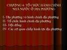 Bài giảng Quản lý và phát triển tổ chức hành chính nhà nước: Chương 4 - Nguyễn Thị Ngọc Lan