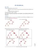 Tài liệu hướng dẫn thực hành môn Cấu trúc dữ liệu và giải thuật - Bài 5: Cây cân bằng AVL