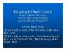 Bài giảng Kỹ thuật Vi xử lý: Chương 1 - Hồ Viết Việt
