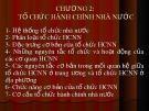 Bài giảng Quản lý và phát triển tổ chức hành chính nhà nước: Chương 2 - Nguyễn Thị Ngọc Lan