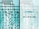 Bài giảng Cấu trúc máy tính - Chương 5: Đĩa và ổ đĩa mềm