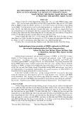 Đặc điểm dịch tễ của dịch PRRS năm 2010-2011 và một số ứng dụng an toàn sinh học tại 3 huyện của tỉnh Tiền Giang