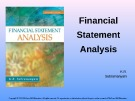 Lecture Financial statement analysis (11/e): Chapter 3.4 - K. R. Subramanyam