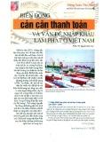 Biến động cán cân thanh toán và vấn đề nhập khẩu lạm phát ở Việt Nam