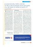 So sánh nợ xấu, phân loại nợ và trích lập dự phòng rủi ro tín dụng của Việt Nam và thông lệ quốc tế