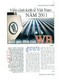 Viễn cảnh kinh tế Việt Nam năm 2011 dưới góc nhìn của WB