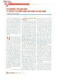 Cơ chế thuyết phục lạm phát: Lý thuyết và triển vọng ứng dụng tại Việt Nam