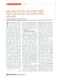 Hiệp định TPP với việc hoàn thiện pháp luật về dịch vụ ngân hàng Việt Nam