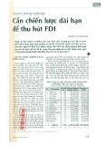 Ngành nông nghiệp: Cần chiến lược dài hạn để thu hút FDI