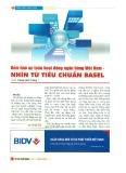 Đảm bảo an toàn hoạt động ngân hàng Việt Nam - Nhìn từ tiêu chuẩn Basel