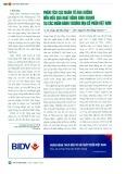 Phân tích các nhân tố ảnh hưởng đến hiệu quả hoạt động kinh doanh tại các ngân hàng thương mại cổ phần Việt Nam
