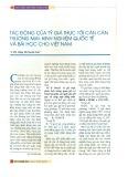 Tác động của tỷ giá thực tới cán cân thương mại: Kinh nghiệm quốc tế và bài học cho Việt Nam
