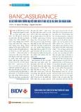 Bancassurance tại các ngân hàng thương mại Việt Nam nhìn từ góc độ sự hài lòng của khách hàng