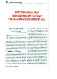 Thực trạng và giải pháp phát triển mua bán, sát nhập của ngân hàng thương mại Việt Nam