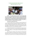 Tín dụng góp phần phát triển kinh tế đồng bằng Sông Cửu Long