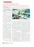 Cơ cấu lại ngân hàng - Những vấn đề về chi phí từ ngân sách
