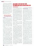 Định hướng và giải pháp phát triển thị trường ngoại hối Việt Nam đến năm 2020