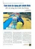 Tình hình tín dụng phi chính thức đối với nông hộ ở tỉnh An Giang