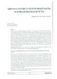 Nghiên cứu các yếu tố kinh tế và thể chế ảnh hưởng đến hoạt động của hệ thống ngân hàng thương mại Việt Nam