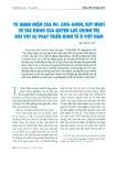 Từ quan điểm của Ph. Ăng-Ghen, suy nghĩ tác động của quyền lực chính trị đối với sự phát triển kinh tế ở Việt Nam