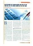 Nguyên nhân các doanh nghiệp gian lận số liệu trên báo cáo tài chính: Nghiên cứu tại Việt Nam