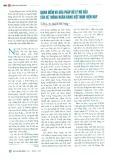Quan điểm và giải pháp xử lý nợ xấu của hệ thống ngân hàng Việt Nam hiện nay