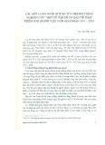 """Các kết luận được rút ra từ chương trình nghiên cứu """"Một số vấn đề cơ bản về phát triển con người Việt Nam giai đoạn 2011 - 2020"""""""