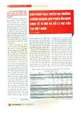 Giải pháp phát triển thị trường chứng khoán góp phần ổn định kinh tế vĩ mô và xử lý nợ xấu tại Việt Nam