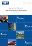 Học thuyết đúc kết từ lịch sử: Charter City của Paul Romer và ứng dụng chính sách