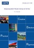 Khủng hoảng kinh tế thế giới và bài học cho Việt Nam