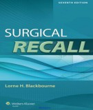 Ebook Surgical recall (7th edition): Part 2